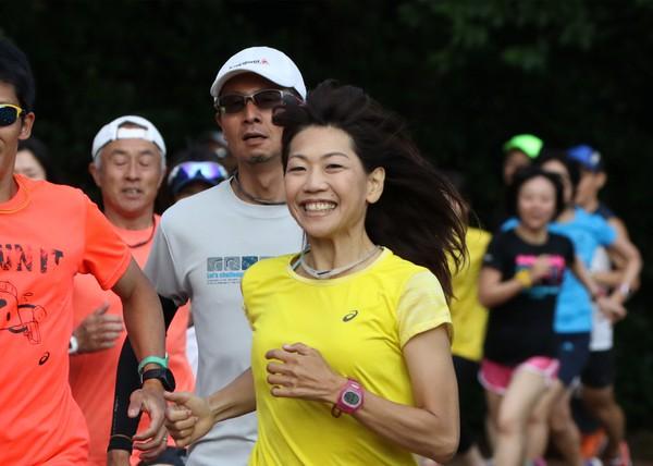 高橋尚子ランニングクリニックのイベントレポート